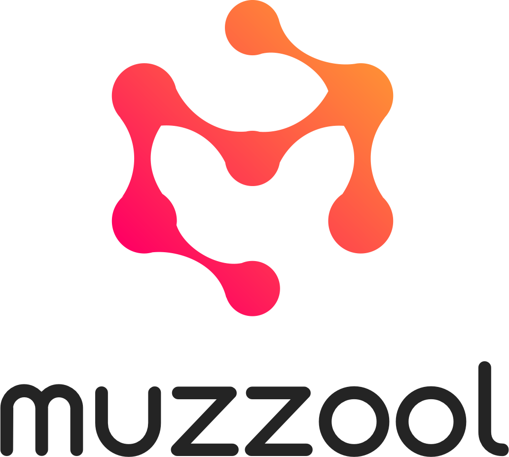 Muzzool logo - light
